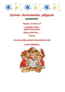 Pikkujoulu @ Korttian Monitoimitalo | Suomi